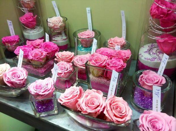 Fleurs artificielles mazarinette - Au nom de la rose fleuriste ...