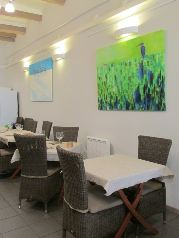salle restaurant la table des saisons aix